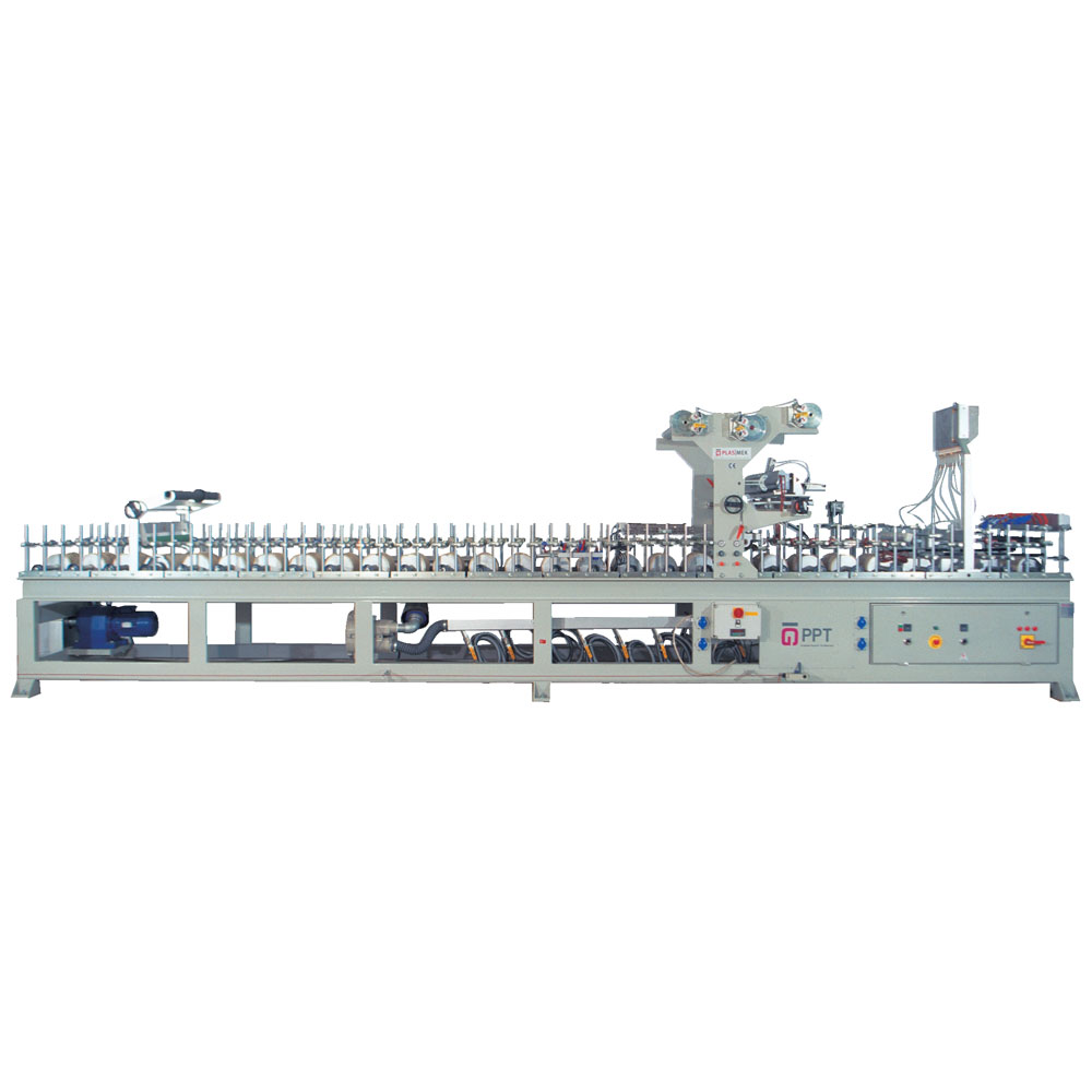 LM 900 P PUR HOTMELT PANEL WRAPPING MACHINE